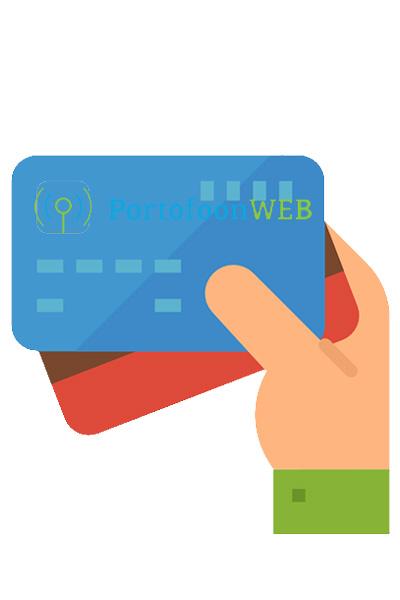 Overzicht betaalmethoden bij PortofoonWEB