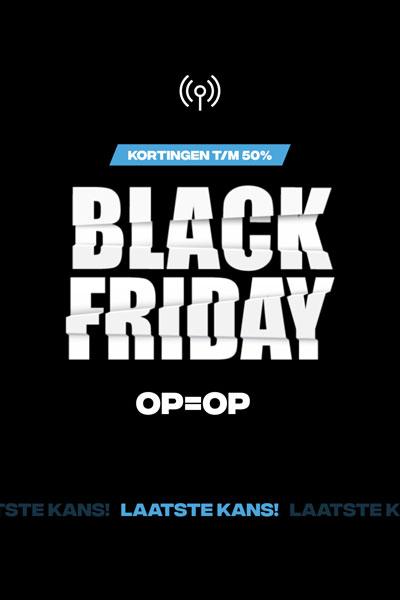 Black Friday bij PortofoonWEB