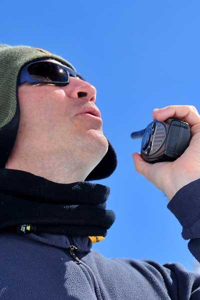 Hoe groot is het bereik van een walkie talkie