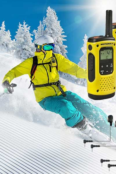 walkie talkies wintersport